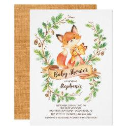 Sweet Woodland Fox