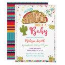 Taco Bout A Baby Baby Shower Invitation Fiesta