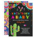 Taco Bout A Baby Fiesta Baby Shower Invitations