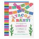 Taco Bout A Baby, Fiesta Baby Shower Invitation
