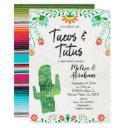 Tacos And Tutus Fiesta Baby Shower Invite Invitationss