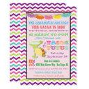 Tacos And Tutus Mexican Fiesta Baby Shower Invites