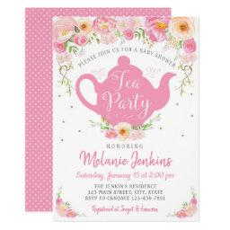 Tea Party Baby Shower Sprinkle