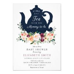 Time For Tea Baby Shower Invitation
