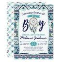Tribal Arrows Baby Shower Invitation, It's A Boy Invitation