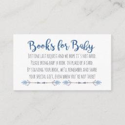 Tribal Books For Baby Enclosure Card