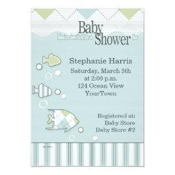 Tropical Fish Baby Shower