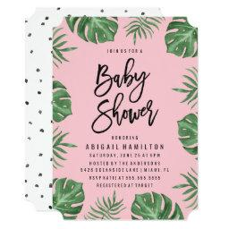 Tropical Leaves | Baby Shower