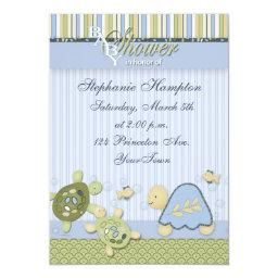 Turtle Reef and Gold Fish Baby Shower