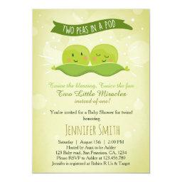 Twin Baby Shower  Two Peas In A Pod