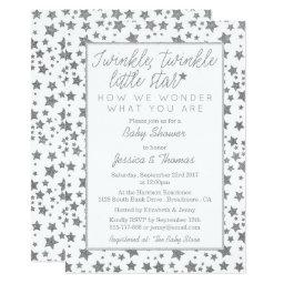 Twink, Twinkle Little Star Baby Shower