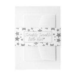 Twink, Twinkle Little Star Baby Shower  Belly Band