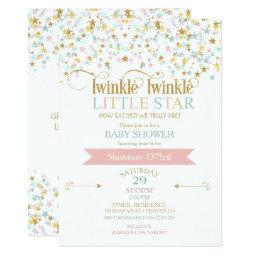 Twinkle Little Star Baby Shower Any Color