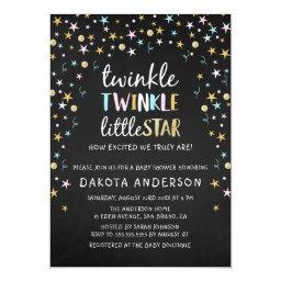 Twinkle Little Star Confetti & Chalk Baby Shower