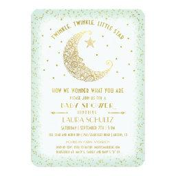 Twinkle Twinkle Little Star  Gold/Mint