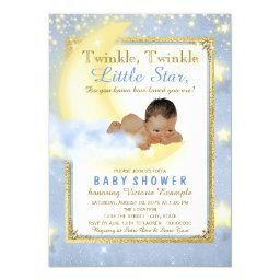 Twinkle Twinkle Little Star Ethnic Boy Baby Shower