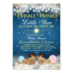 Twinkle Twinkle Little Star Ethnic Gender Reveal