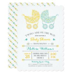 Twins are on the way! Twins Baby Shower