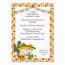 Twins Boy Girl Mexican Fiesta Baby Shower Invite