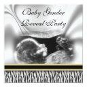 Ultrasound Baby Gender Reveal Party Invitations
