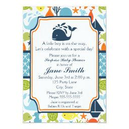 Under the Sea, Ocean Animals Baby Shower