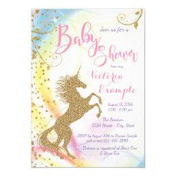 Unicorn Baby Shower