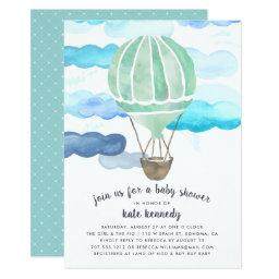 Up in the Air Baby Shower  | Mint
