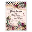 Vintage Alice In Wonderland Baby Shower
