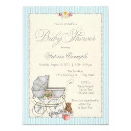 Vintage Shabby Chic Girls Baby Shower