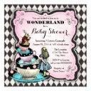 Vintage Wonderland Baby Shower Invitations