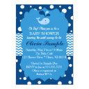 Whale Baby Shower Invitations, Nautical Baby Shower Invitations