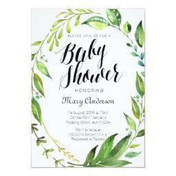 Whimsical Botanical Baby Shower