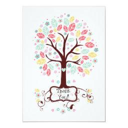 Whimsical Cute Swirl Heart Flower Tree Baby Shower