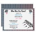 Who Won The Race Gender Reveal Funny Sperm Invitations