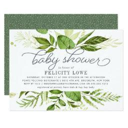 Wild Meadow Baby Shower