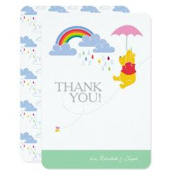 Winnie the Pooh | Girl Baby Shower Thank You