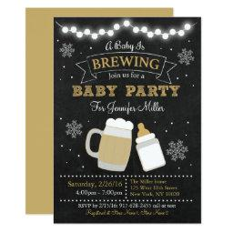 Winter Baby Is Brewing Baby Shower