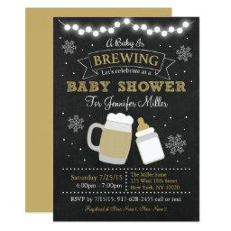 Winter Baby Is Brewing
