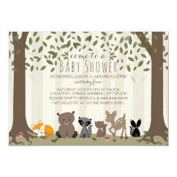 Woodland Animal Family