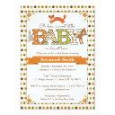 Woodland Baby Shower Invitationss - Woodland Animal