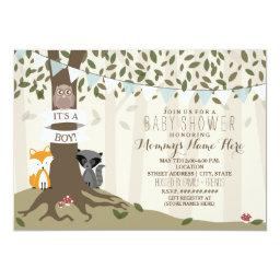Owl Baby Shower Invitations BabyShowerInvitations4U