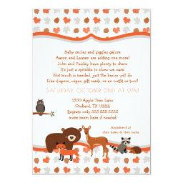 Woodland Creatures Fall Neutral Baby SPRINKLE