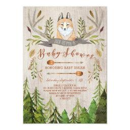 Woodland Fox Rustic