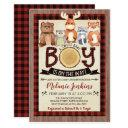 Woodland Lumberjack Boy Baby Shower