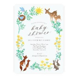 Woodland Welcome Baby Shower