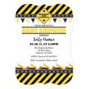 Yellow Construction Baby Shower