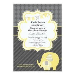 Yellow Elephant Baby Shower
